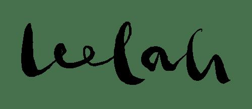 Leelah logo BLK-01